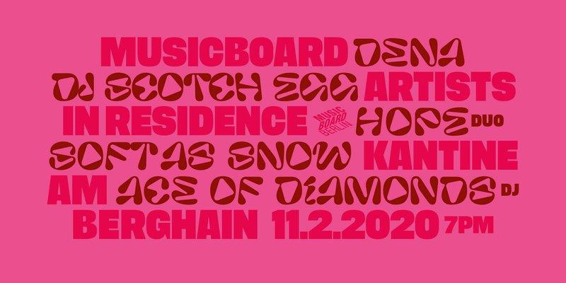 Musicboard Werkschau