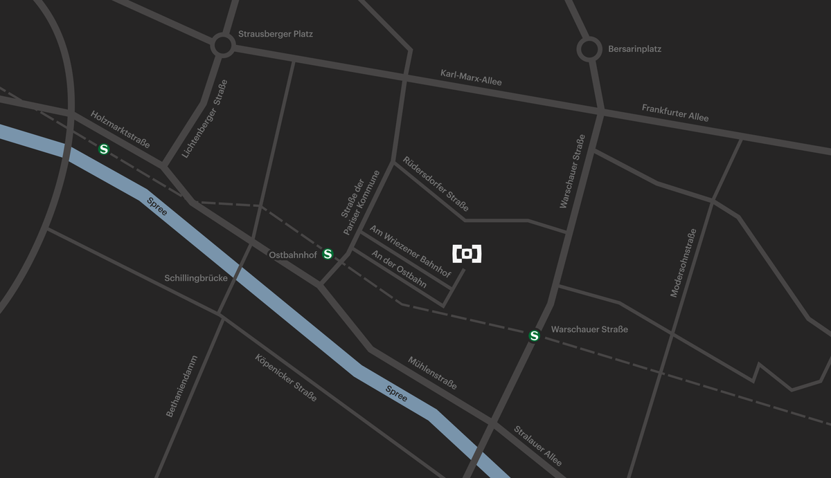 Berghain Map