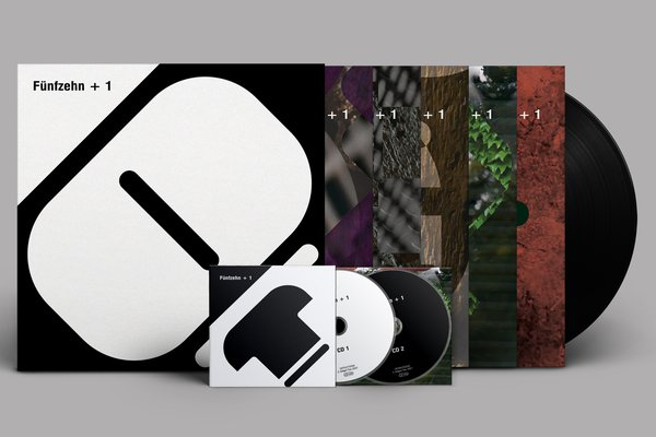 Various Artists   Fünfzehn + 1   OSTGUTCD50LP36