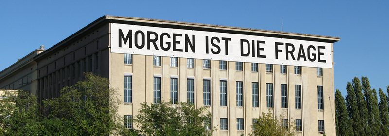 MORGEN IST DIE FRAGE for Studio Berlin 2020 (installation rendering)