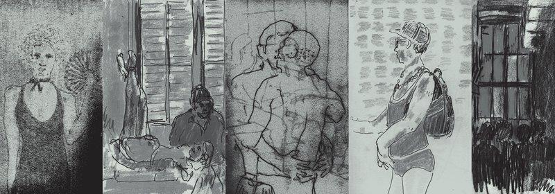 Berghain Month Artwork January 2008