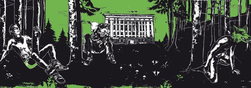 Berghain Month Artwork May 2009