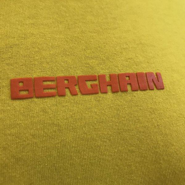 Berghain Lettering T-Shirt | Yellow-Orange